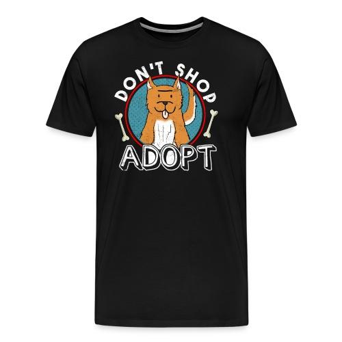 Nicht kaufen - Adoptieren - Männer Premium T-Shirt