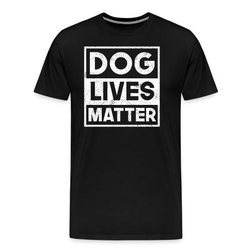 Das Leben mit dem Hund - Männer Premium T-Shirt