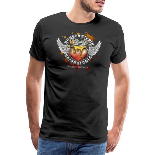 Honeydrippin' razorblades - Männer Premium T-Shirt