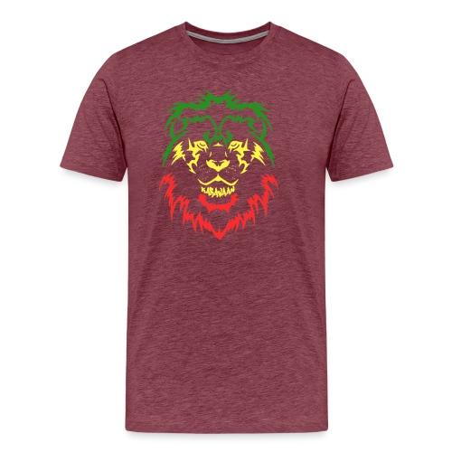KARAVAAN Lion Reggae - Mannen Premium T-shirt