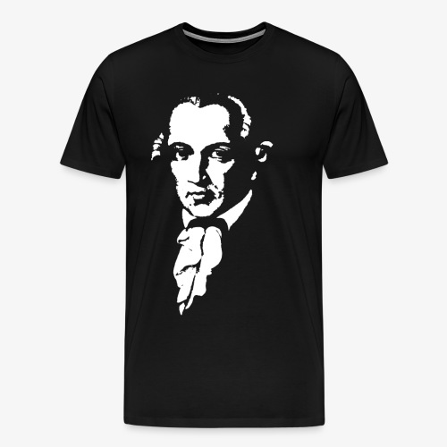 Immanuel Kant - Männer Premium T-Shirt