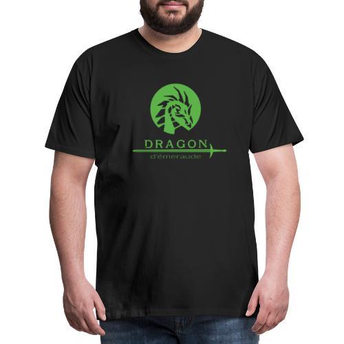 dragon d'émeraude vert - T-shirt Premium Homme