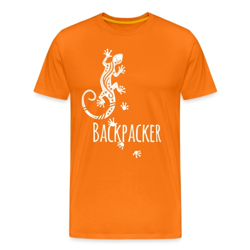 Backpacker - Running Ethno Gecko 2 - Männer Premium T-Shirt