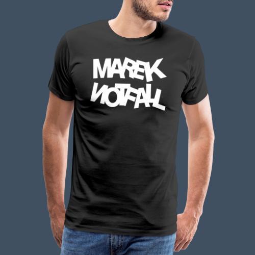 Marek Notfall Weiß - Männer Premium T-Shirt