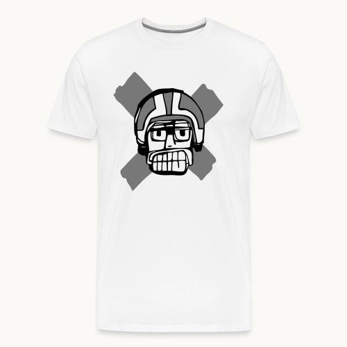 Motard Junior - BlackAndWhite - T-shirt Premium Homme