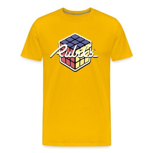 Rubik's Cube Retro Style - Men's Premium T-Shirt