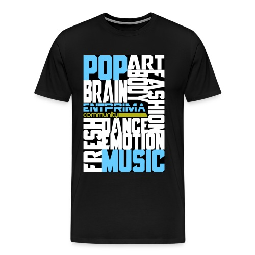 Entprima Claim White png - Männer Premium T-Shirt