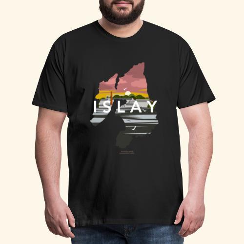 Islay Dusk Whisky T-Shirt Design - Männer Premium T-Shirt