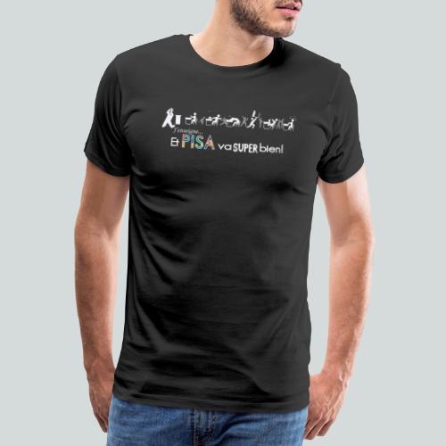 J'enseigne et PISA va super bien! - T-shirt Premium Homme