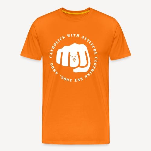 CATHOLICS WITH ATTITUDE - Men's Premium T-Shirt