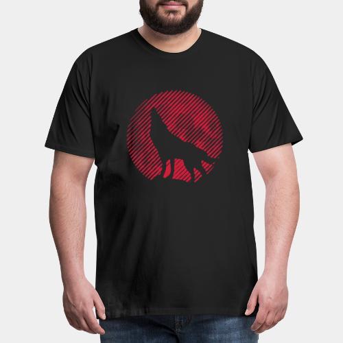 WOLF_02 - Koszulka męska Premium