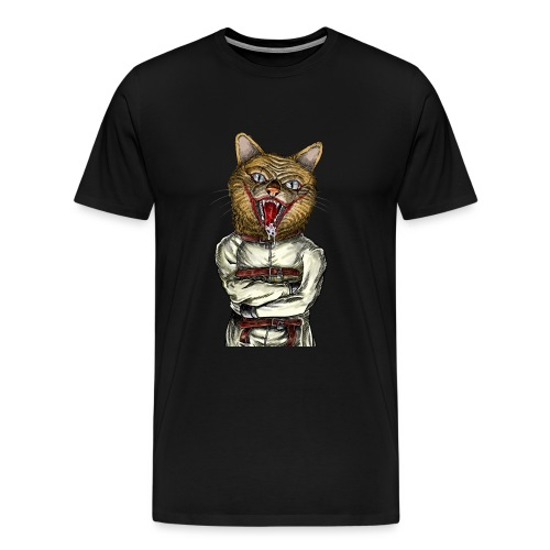 Crazy Cat - T-shirt Premium Homme