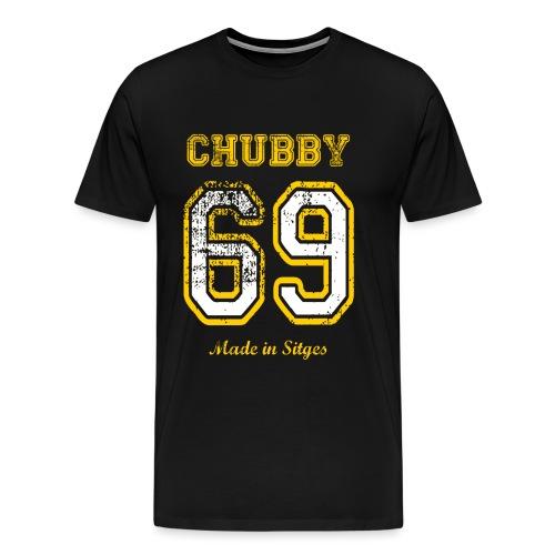 69 Chubby - Camiseta premium hombre