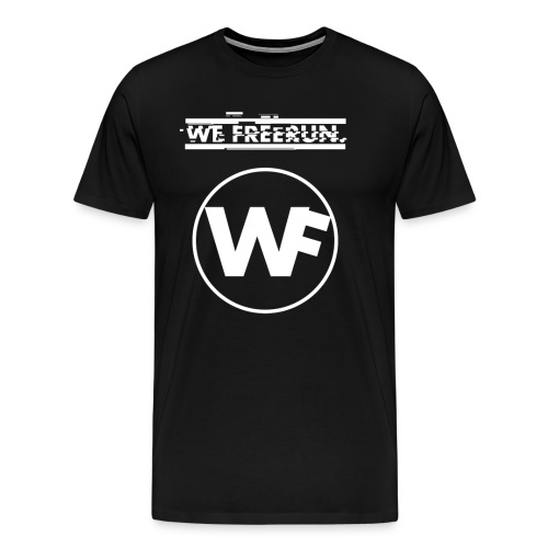 WE FREERUN LOGO! - Premium-T-shirt herr