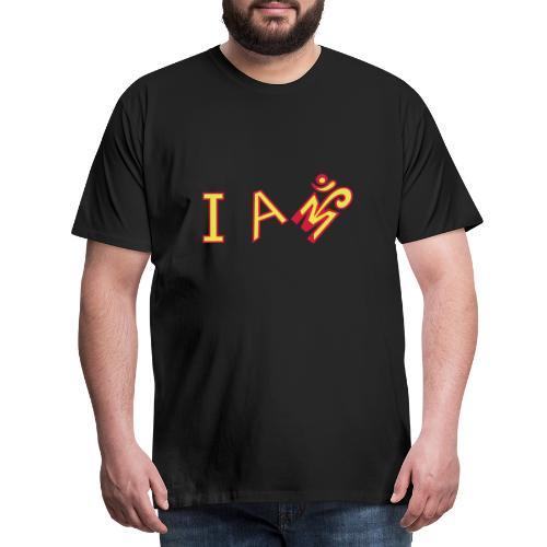 Jeg er Om - Herre premium T-shirt