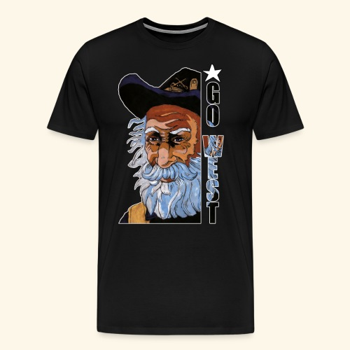 Go West - T-shirt Premium Homme