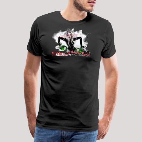 FIL180 TPR White - Men's Premium T-Shirt