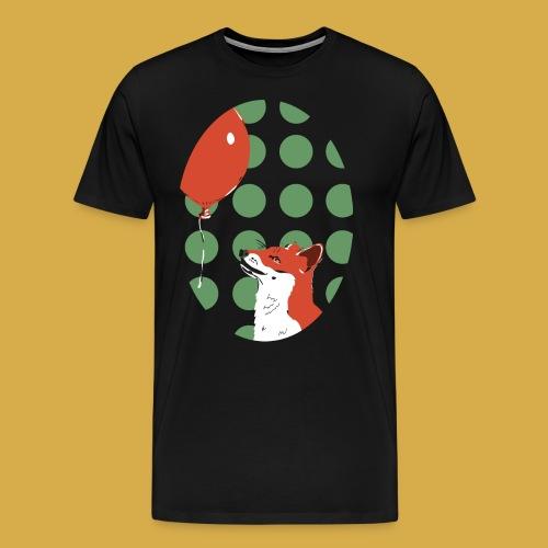 Fuchs und Luftballon - Männer Premium T-Shirt