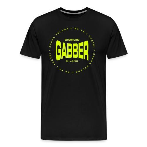 GIORGIO GABBER MILANO - Maglietta Premium da uomo