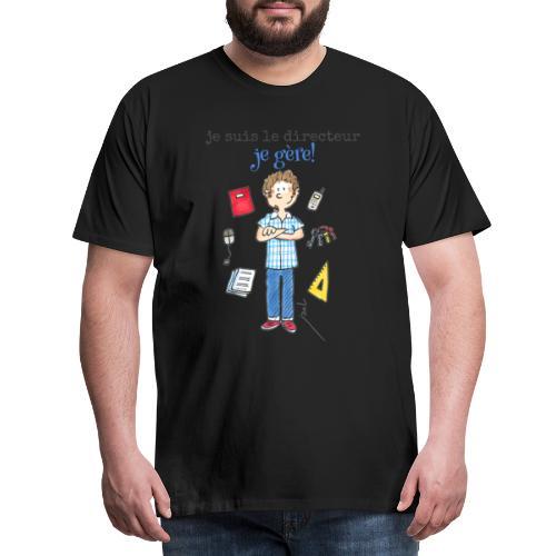 027 je suis le directeur - T-shirt Premium Homme