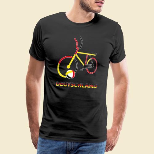 Radball   Deutschland Rad - Männer Premium T-Shirt