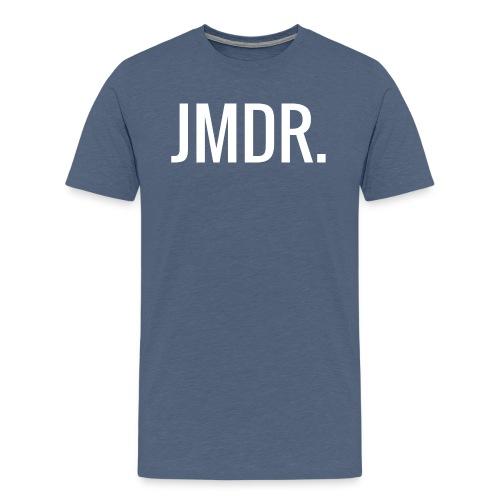 JMDR Official logo - Mannen Premium T-shirt
