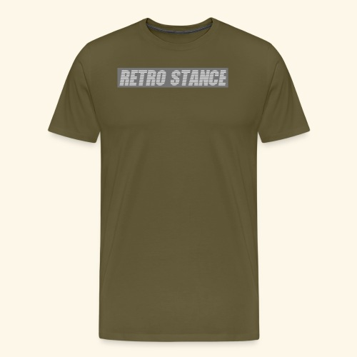 Retro Stance - Men's Premium T-Shirt