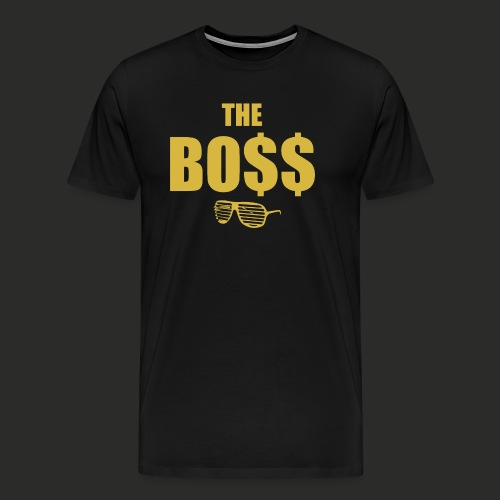 The Bo$$ Mens T-Shirt - Men's Premium T-Shirt