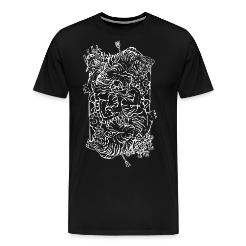 Tiger Print - Men's Premium T-Shirt