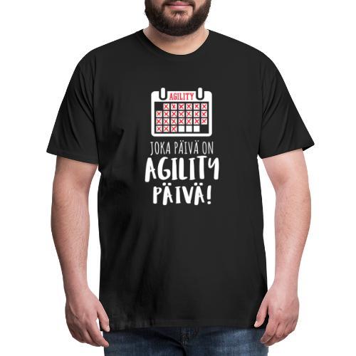 Joka Päivä Agility - Miesten premium t-paita