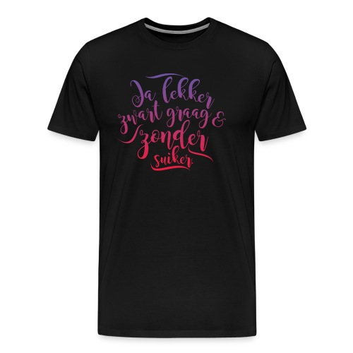 Koffie - Mannen Premium T-shirt