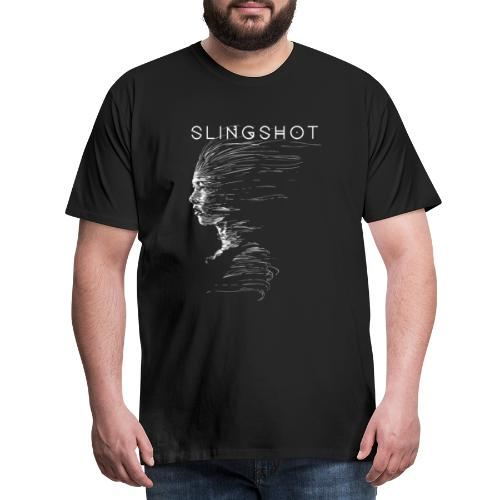 Slingshot with title - Men's Premium T-Shirt