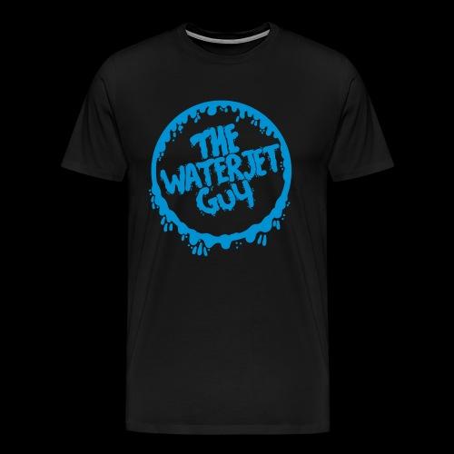 Waterjet guy Logo - Men's Premium T-Shirt