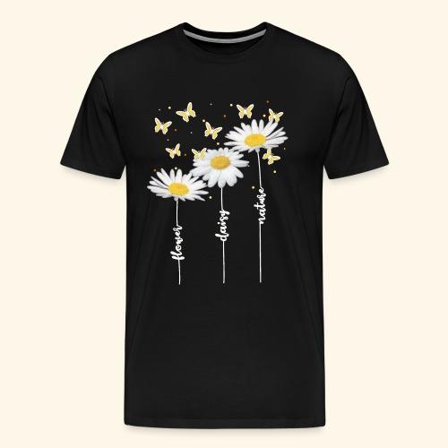 Margeriten, Blumen, Sommer - Männer Premium T-Shirt