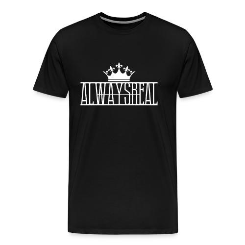 AlwaysReal Weiss - Männer Premium T-Shirt