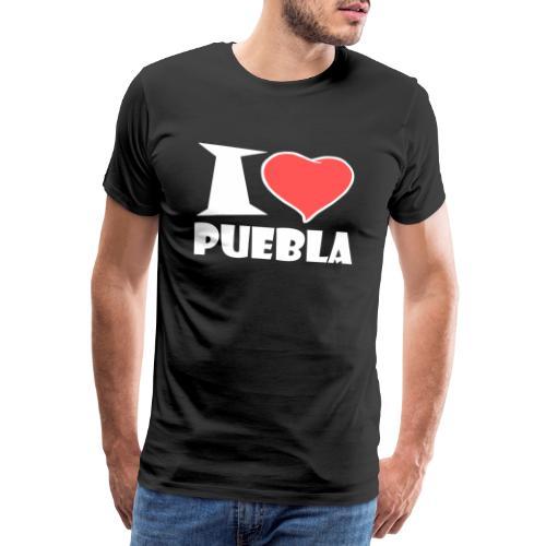 I love Puebla - Männer Premium T-Shirt