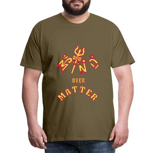 Mind over Matter - Herre premium T-shirt