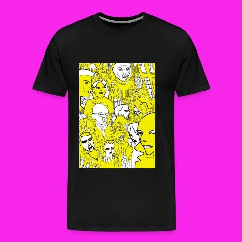 luscious gold - Men's Premium T-Shirt