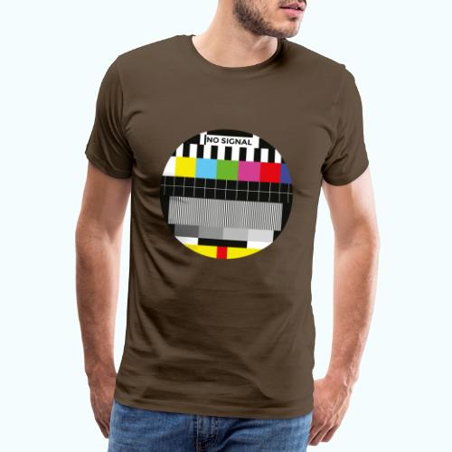 Vintage test pattern - Men's Premium T-Shirt