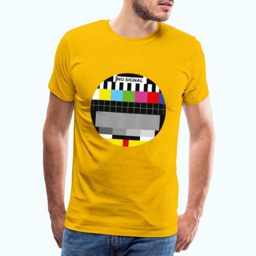 Vintage test pattern - Men's Premium T-Shirt