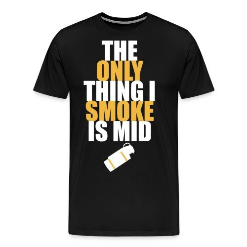 smokemid design png - Men's Premium T-Shirt