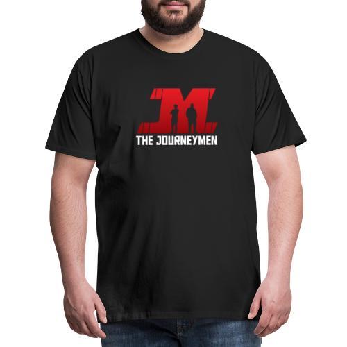 Red White JourneyMen Logo - Men's Premium T-Shirt