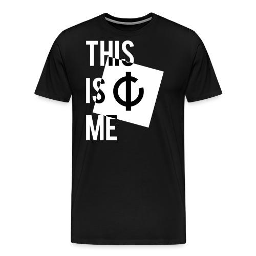 C'est moi + logo - T-shirt Premium Homme