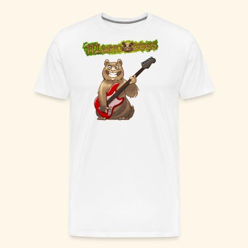 Tshirt Homme Marmotte Bassiste - T-shirt Premium Homme