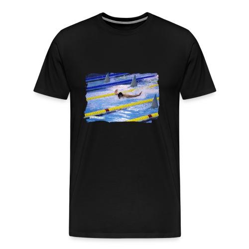 ss logo mens fly png - Men's Premium T-Shirt