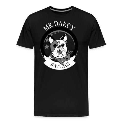 MR DARCY RULES - Männer Premium T-Shirt