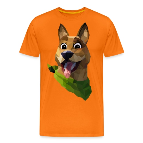 LOW POLY DOGO - T-shirt Premium Homme