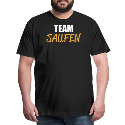Team saufen Shirt - Männer Premium T-Shirt
