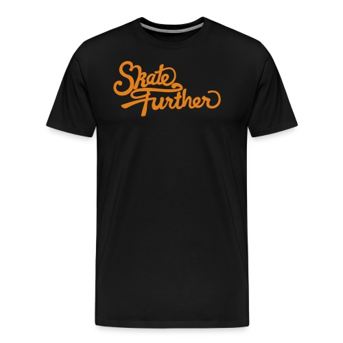 skate further logo final colour - Men's Premium T-Shirt
