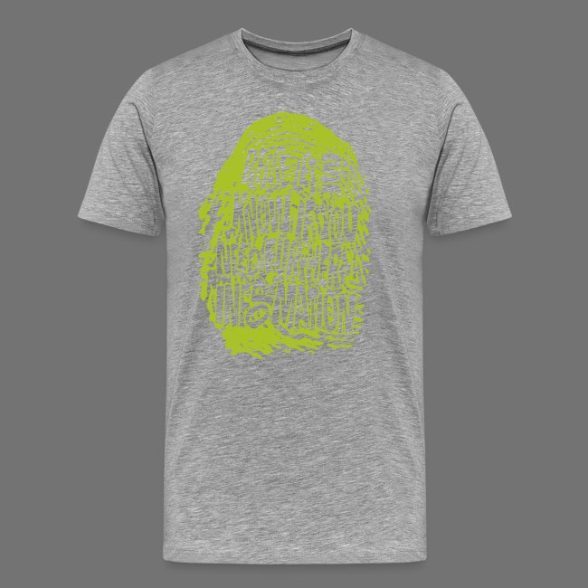 Fingerprint DNA (green)